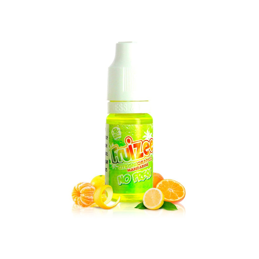 Citron orange mandarine NO FRESH - Fruizee - ELIQUID FRANCE