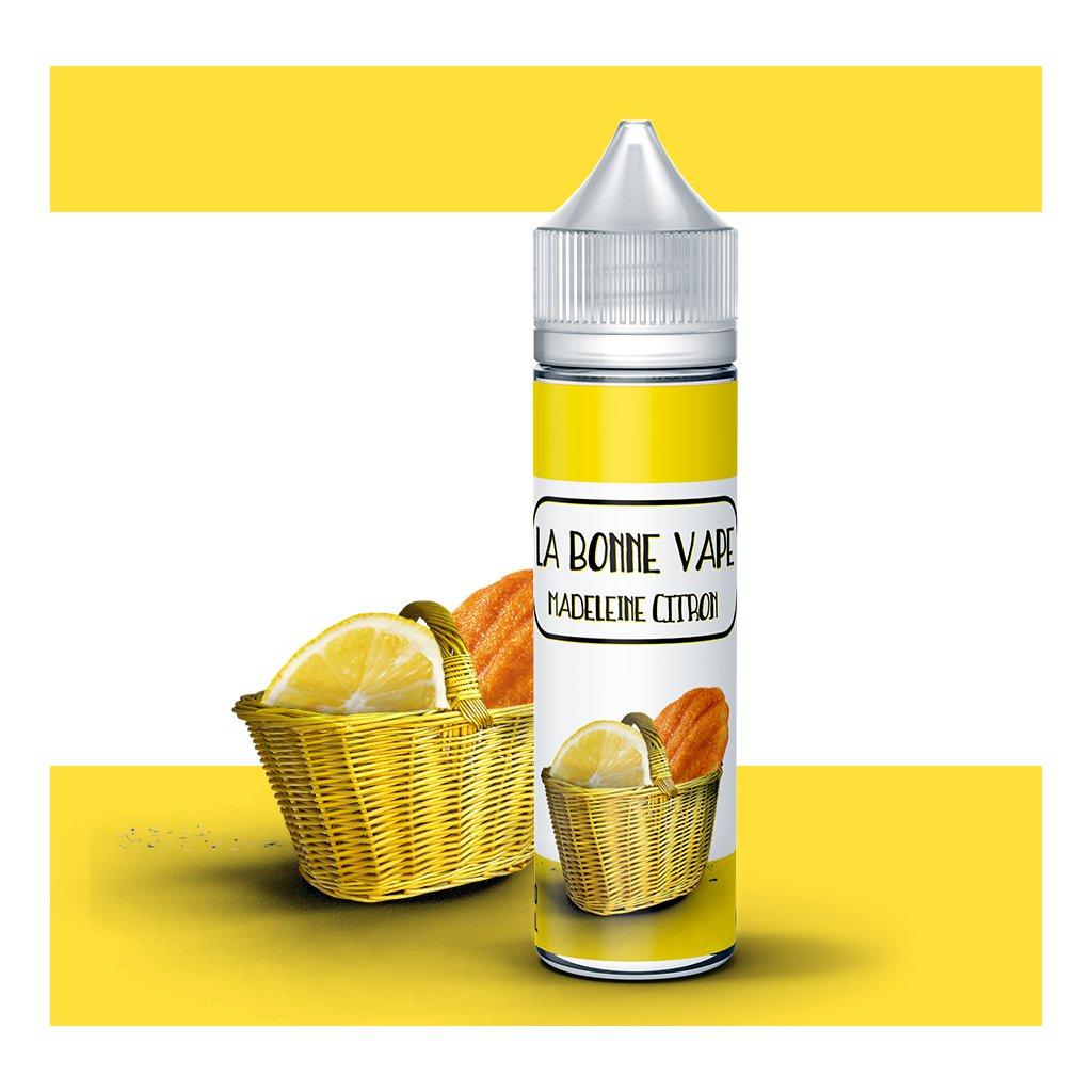 Madeleine citron - LA BONNE VAPE - 50ml