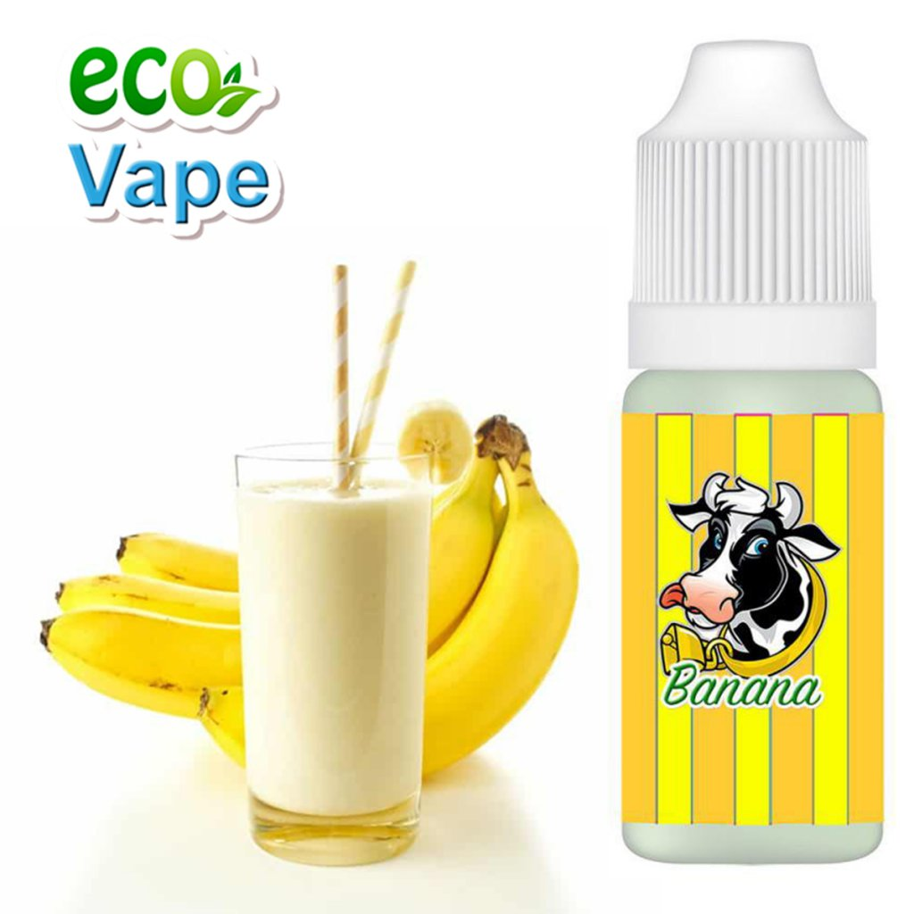 Banana milkshake - PREMIUM - ECO VAPE - 10ml