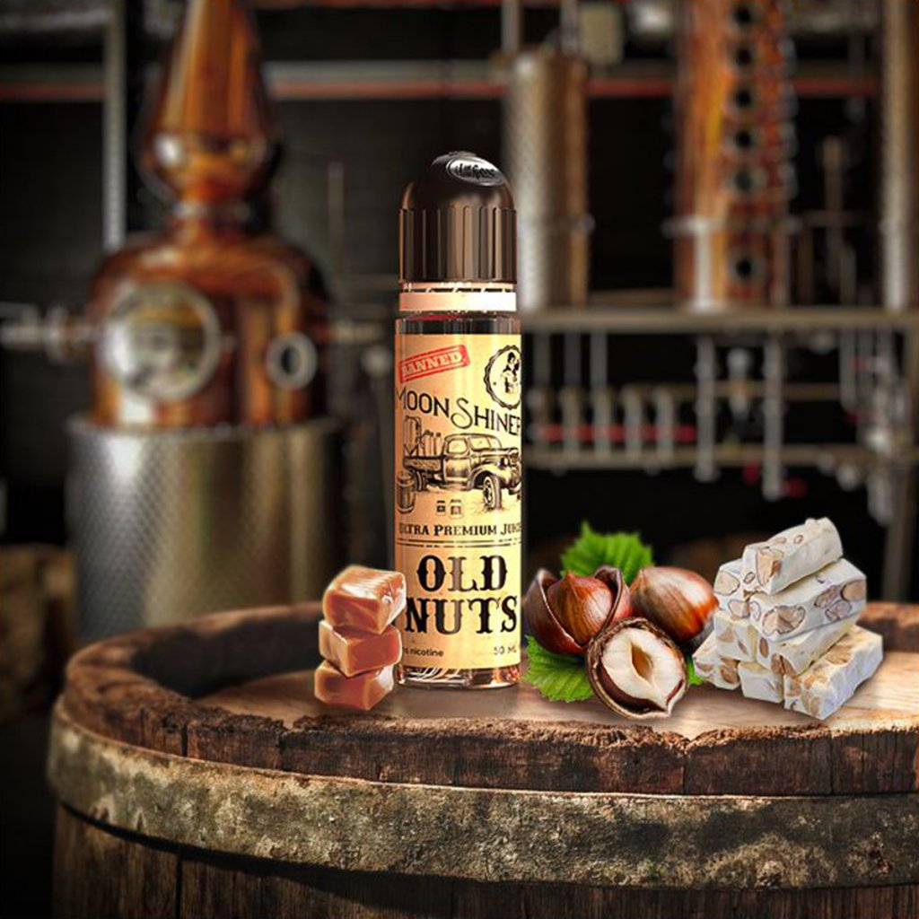 Old nuts 50ml + Booster aromatisé - MOONSHINERS